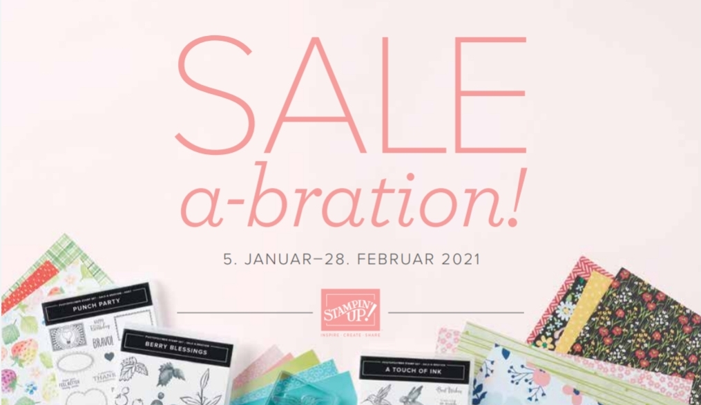 Sale A Bration 2021 bei Stampin`Up!